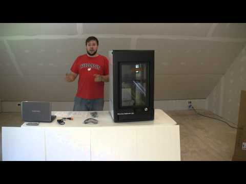 Makerbot Z18 Unboxing and setup