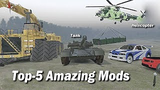 Top 5 Amazing mods of Spintires that are missing in Mudrunner