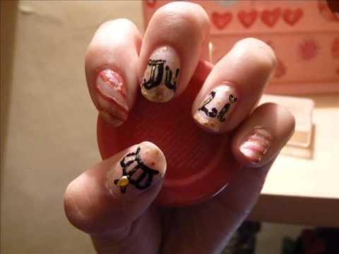 Mis decoraciones de u as nail art youtube - Decoraciones de unas ...