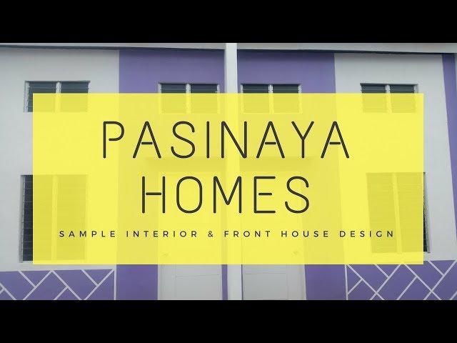 Pasinaya Homes | Murang Pabahay | Thru Pag-ibig | Interior and Front House Design | Naic Cavite