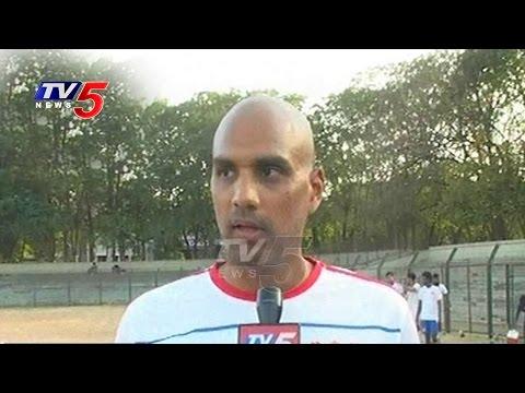 Telangana Football Association | A Division Rahim League | TV5 News
