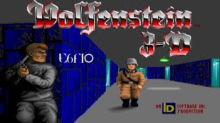 Wolfenstein 3D (DOS) E6F10 (Secret Level)