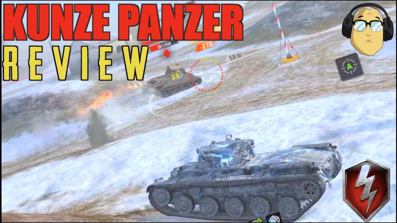 Download KUNZE PANZER REVIEW WORLD OF TANKS BLITZ
