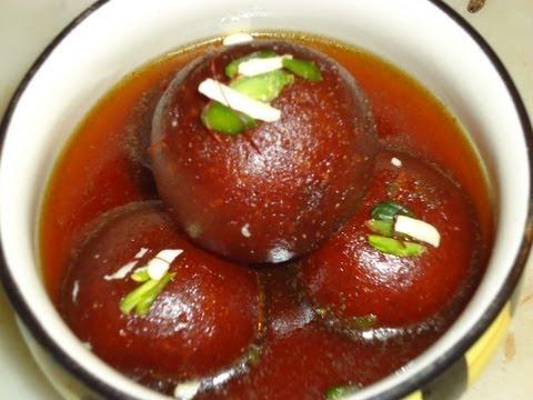 Gulab Jamun, Gulab Jamun recipe, Kala Jamun, Brown Rasgulla, Indian Sweets,