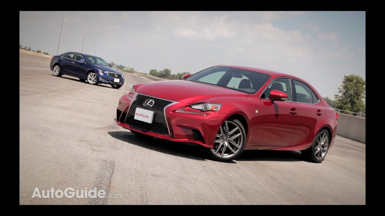 2014 lexus is350 f sport vs 2013 cadillac ats 2 0t youtube. Black Bedroom Furniture Sets. Home Design Ideas