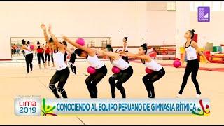 Conoce al equipo peruano de gimnasia rítmica que nos representará en Lima 2019