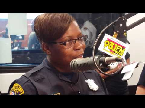 City of Cleveland, Dept of Public Safety in their police recruitment campaign with Chief Williams