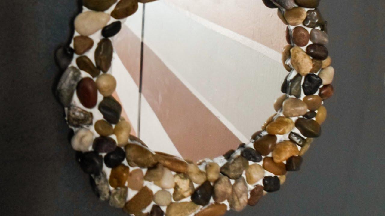 Crea un espejo r stico y masculino hazlo tu mismo hogar - Marcos rusticos para espejos ...
