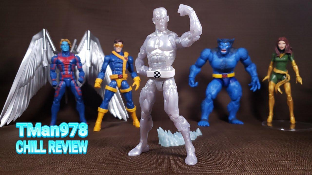 "Marvel Legends 80th Anniversary Uncanny X-Men 6/"" Iceman Retro Action Figure"