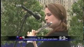 Amazing Grace at 9/11 Memorial Ceremony, Emi Ferguson Flute