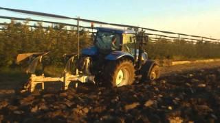 aratura 2014 az agr tessari new holland t6070 plus bivomere er mo