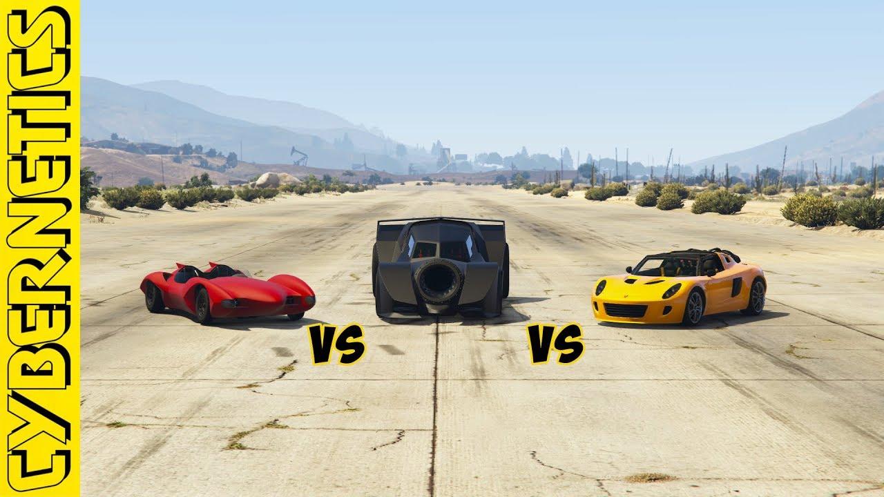 GTA 5 - Scramjet vs Vigilante vs Rocket voltic