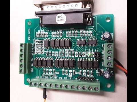 hqdefault changzhou longs motor breakout board db25 1205 youtube db25 breakout board wiring diagram at bayanpartner.co