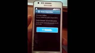 Samsung Galaxy S2 con problema no registrado en la red