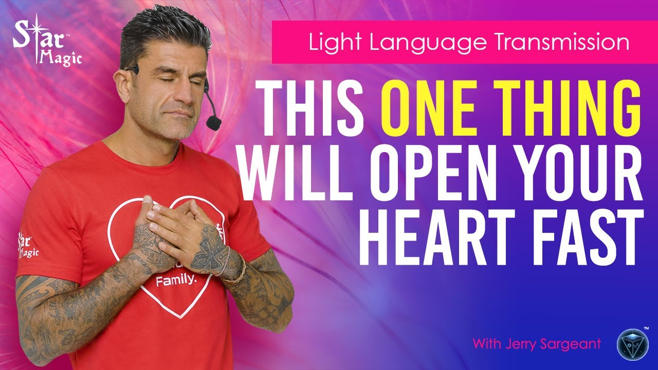OPEN Your HEART & Raise Your Vibration with this HIGH Frequency DNA Activating Transmission. REA