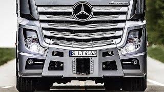 Премьера Нового Грузовика Mercedes Benz Actros 2019 Полный Видеообзор