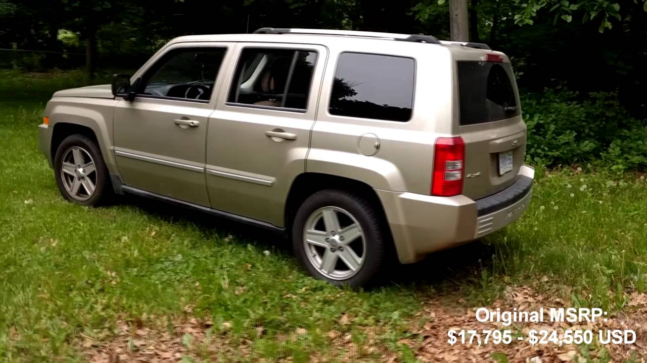 2010 jeep patriot limited review - youtube