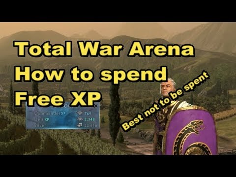 Total War Arena: How to spend Free XP