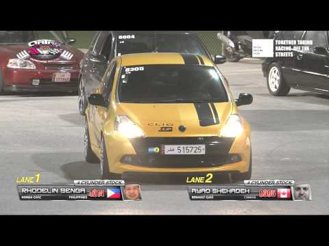 Qatar National Street Drag Championship - Round 1 final