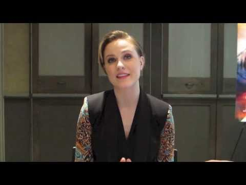 Evan Rachel Wood Talks About Mads Mikkelsen
