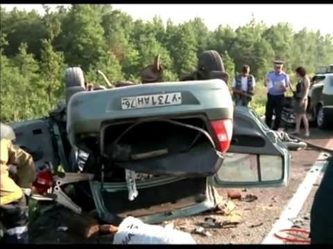 Семь человек погибли в ДТП в Ярославской области