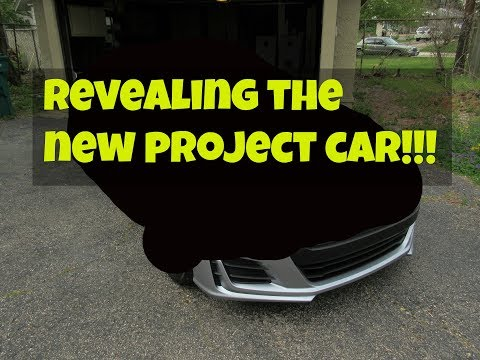 Revealing the new project car!