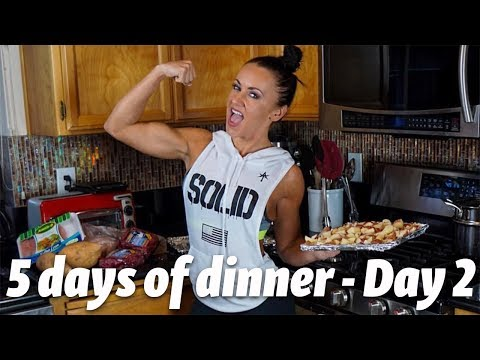 5 days of dinner day 2 | Macro friendly meals | Healthy recipes