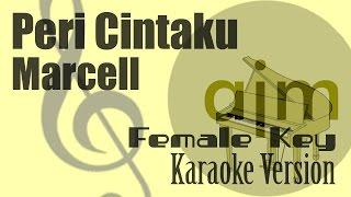 Marcell Siahaan - Peri Cintaku  Female Key  Karaoke Version   Ayjeeme Karaoke