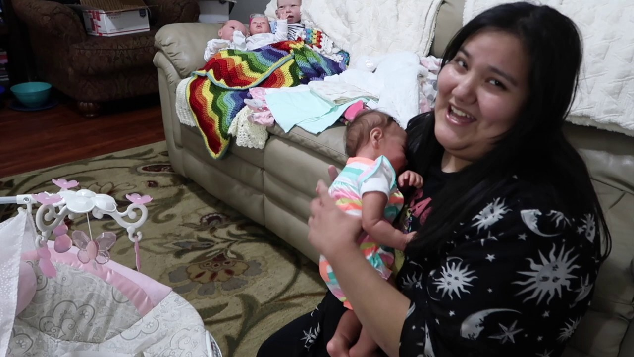 Box Opening Of Reborn Baby Doll New Baby For Carol Youtube