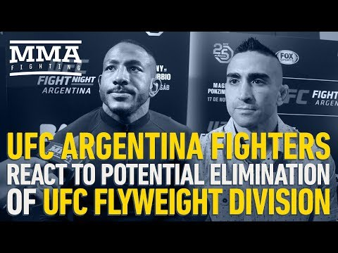 UFC Argentina Fighters React to Potential Elimination of UFC Flyweight Division - MMA Fighting