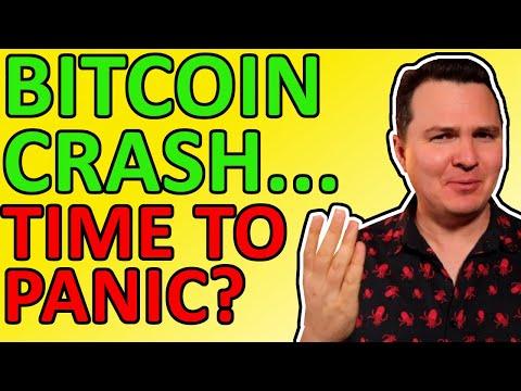 BITCOIN PRICE CRASH!!! Time To Panic? Here's My Bitcoin Analysis