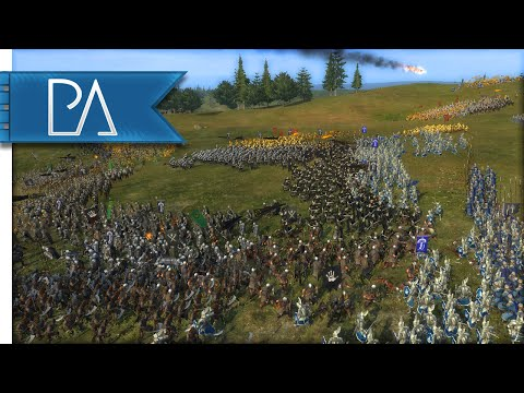 FIGHT TO THE LAST - Third Age Total War Gameplay