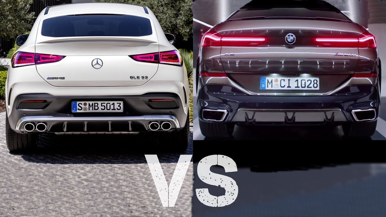 2020 Mercedes GLE Coupe VS 2020 BMW X6