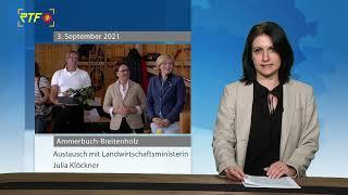 Landwirtschaftsministerin Klöckner bei Wahlkampfauftritt in Ammerbuch-Breitenholz