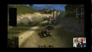 PvP vs VE404 World of tanks Clan Wars 8/23/12