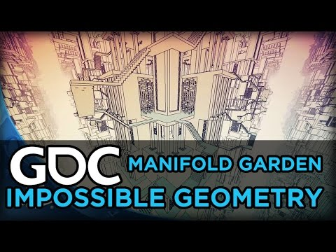 Manifold Garden: Level Design in Impossible Geometry