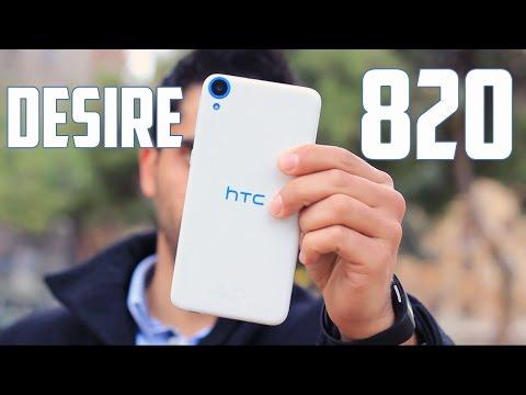 HTC Desire 820, Review en Espa�ol