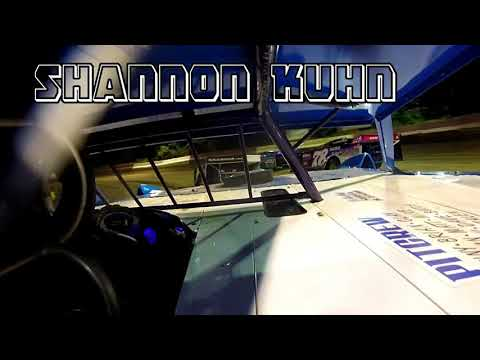 In Car Cam of Shannon Kuhn at Highland Speedway 8-4-18