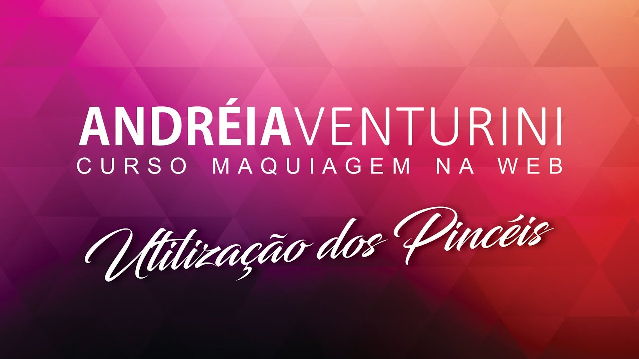 Utilização dos Pincéis Andreia Venturini - diva do challenge by (andréia venturini)