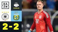 DFB-Elf verspielt 2:0-Führung beim Klassiker: Deutschland - Argentinien 2:2 | Testspiel | DAZN