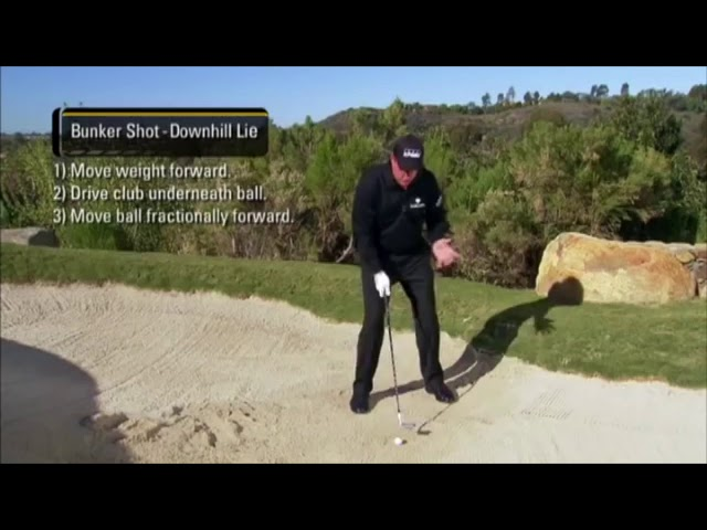 GOLF: Bunker by Phil Mickleson (Golf Tips Edit)