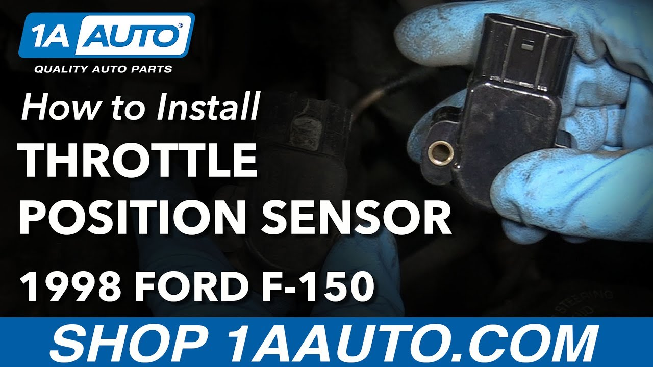 how to replace throttle position sensor 97 03 ford f 150 [ 1280 x 720 Pixel ]