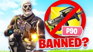 WHY The NEW P90 SHOULD BE BANNED In Fortnite