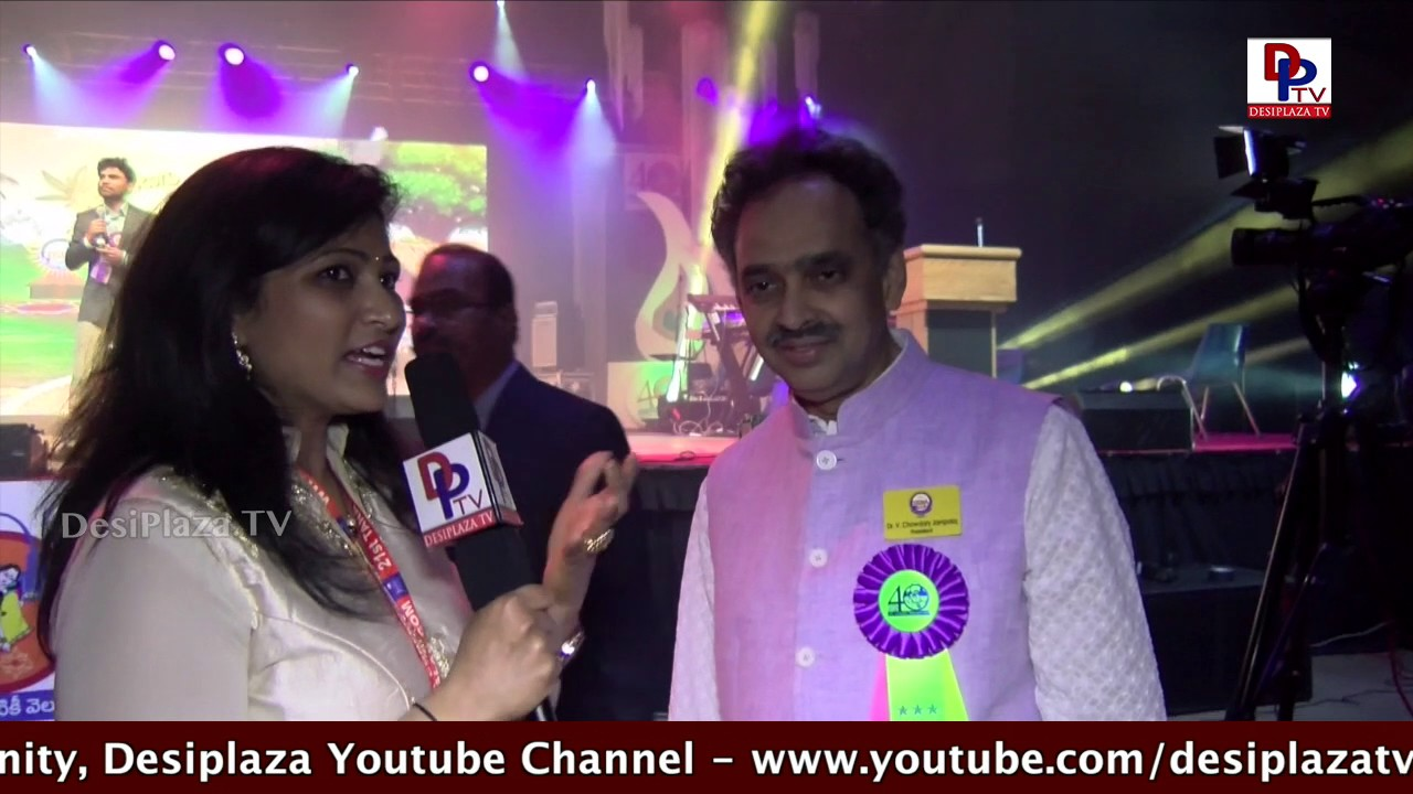 Interview with then TANA president Jampala Chowdhary Garu at TANA Conference - 2017 - St Louis