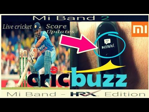 Live cricket score updates on mi band 2/ Hrx edition | how to get score updates on mi band