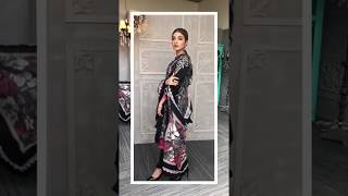 Kinza Hashmi Dress Modeling 2018 Winter Collection