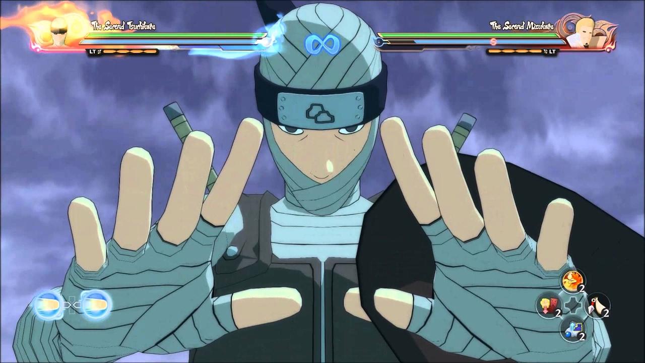 Naruto Shippuden storm 4 Segundo Tsuchikage gameplay - YouTube