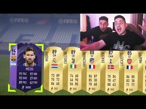 YOU MUST WATCH THIS BEFORE YOU OPEN PACKS!!! - FIFA 18 PACK OPENING