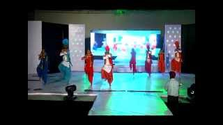 Part{18/18} Rajeev & Henna Honoring Saic Team + Bhangra By Students