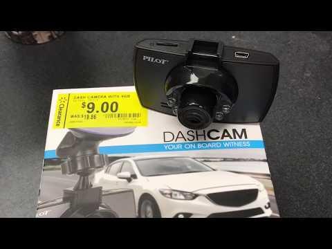 Pilot Dash Camera Short Tutorial/unboxing